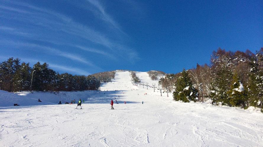 群馬のスキー場