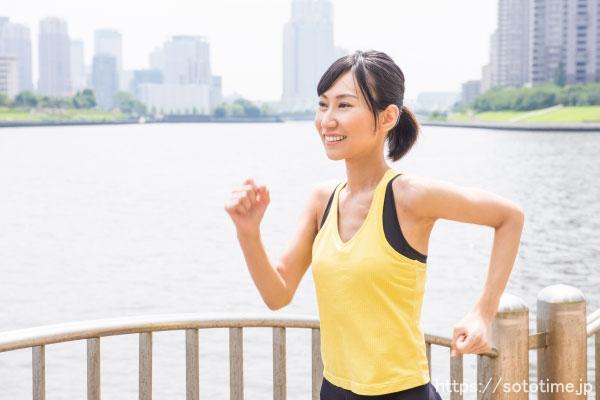 ウォーキングは時間に関係なく健康に良い