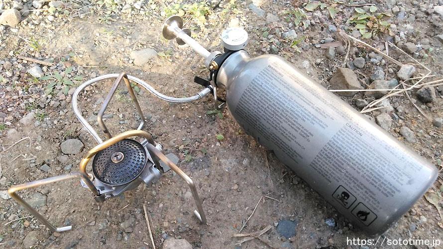 ガソリンストーブはSOTOのmukaストーブがおすすめ【理由と使用法】